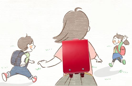 軽い赤いランドセル<img src=