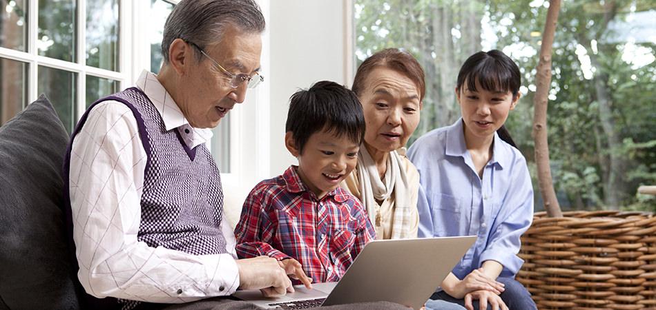 高級素材のことは、おじいちゃん・おばあちゃん世代に聞きましょう!