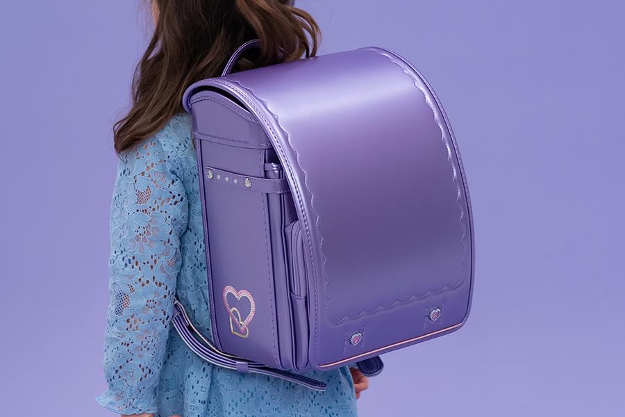 ランドセルも自分が好きな色を!女の子に紫が人気の理由